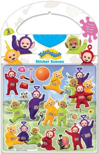 Teletubbies-Sticker Scene